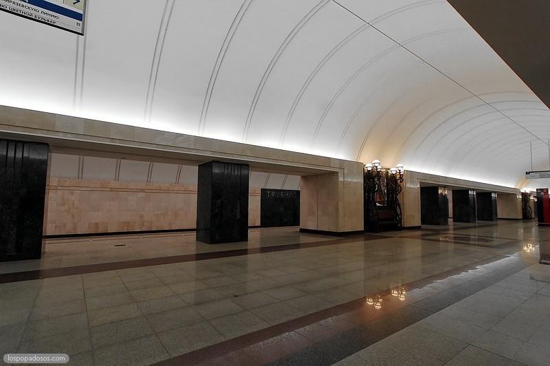 трубная станция метро фото